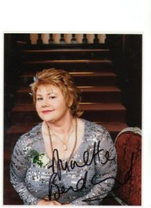 Signed 10 x 8 Photo of Annette Badland
